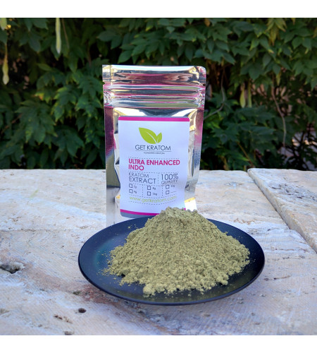 Ultra Enhanced Indo Kratom Extract