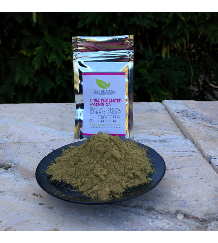 Ultra Enhanced Maeng Da Kratom Extract