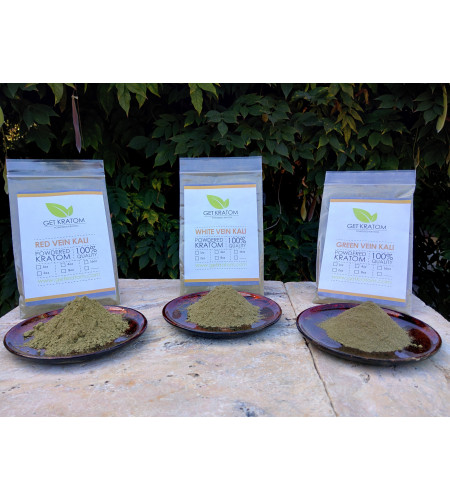 Kali Kratom Sample Pack