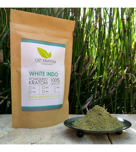 1 oz White Vein Indo Kratom