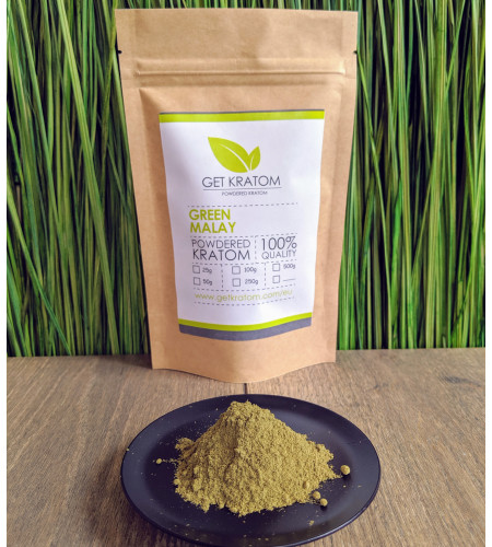 100g Green Malay Kratom
